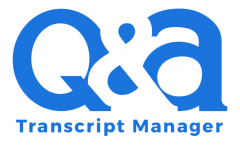 Transcript Manager